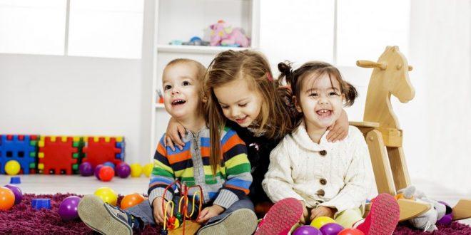 Bild spielende Kinder