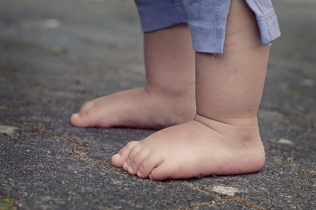 Bild ab wann braucht man Laufschuhe
