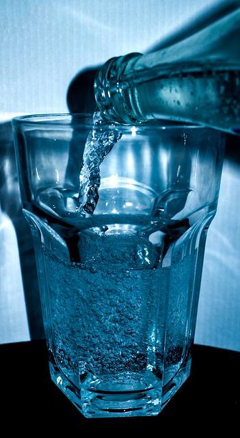 Ausreichend Wasser trinken