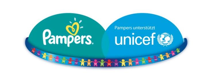 Initiative von Pampers für UNICEF