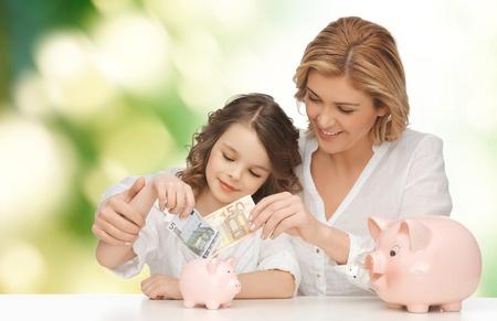 Kindern das Sparen beibringen