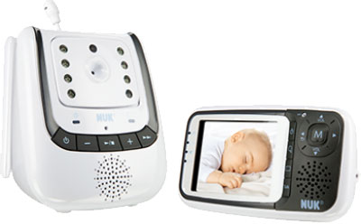 NUK 10256296 - Babyphone Eco Control+ Video