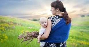 Tragetücher für Babys richtig binden