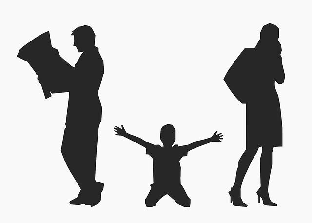 Eltern trennen sich
